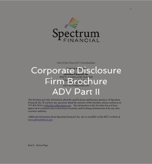 Corporate Disclosure Firm Brochure ADV Part II